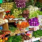 Wunderschöne Obst-und Gemüsemärkte