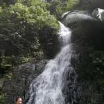 Ein Teil des 11-stöckigen Wasserfalls