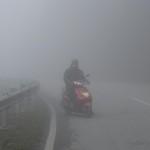 Die kalte Nebelfahrt