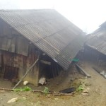 Typisches einheimisches Dorf